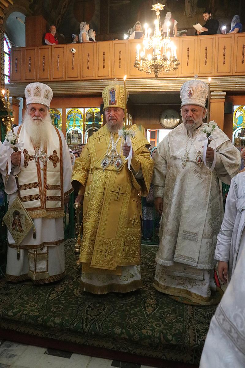 Η εορτή του Αγίου Λουκά στην Συμφερούπολη παρουσία του Σεβασμιωτάτου Μητροπολίτου Αργολίδος κ. Νεκταρίου